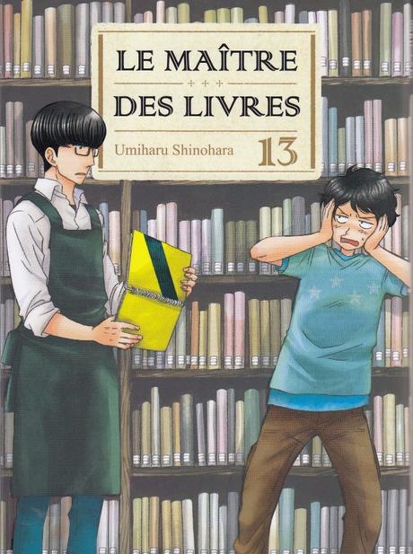 Le maître des livres, tome 13