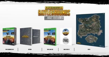 Précommande – PlayerUnknown's Battlegrounds  – Edition Fnac à 34.99€ (5€ en cc)