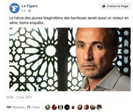 un duel improbable : Le Figaro et le « jeune de banlieue »
