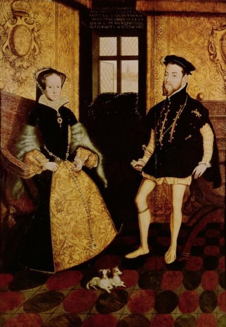 Philippe II et Marie Tudor