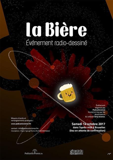 Podcast Science 313 – Emission radio-dessinée : la bière !