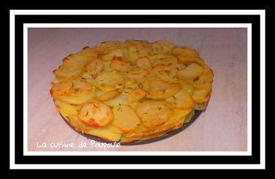 Pressé de pommes de terre au romarin ( au thermomix ou sans)