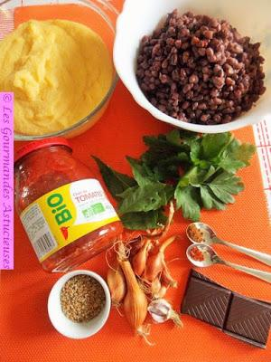 Mole mexicain (sauce au chocolat) à ma façon (Vegan)