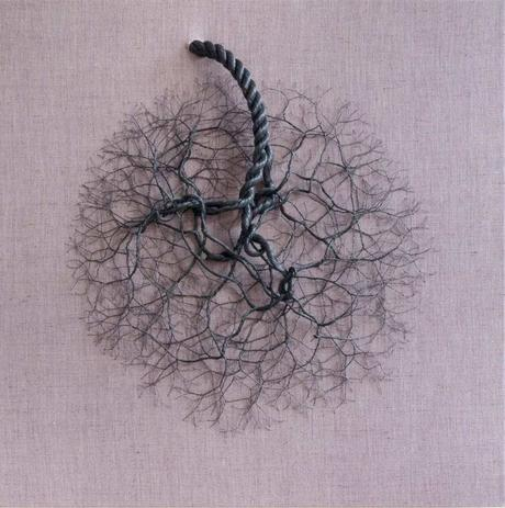Janaina Mello Landini – Cordes nylon Sculptures