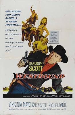 Le Courrier de l'or - Westbound, Bud Boetticher (1959)