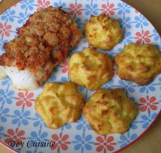 Cabillaud, écailles de chorizo & crumble de parmesan