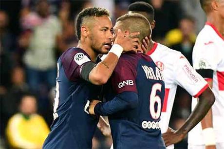 Verratti Neymar PSG