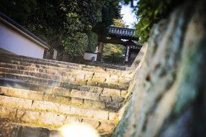 Méditation dans le temple bouddhiste Tofukiji dans Kyoto