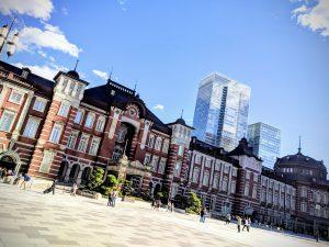 La gare de Tokyo