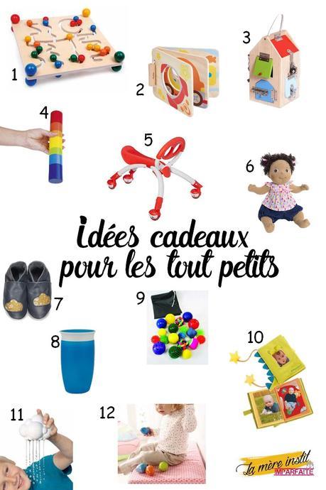 Idées cadeaux pour les tout petits (moins de 2 ans) { Sélection enfants }