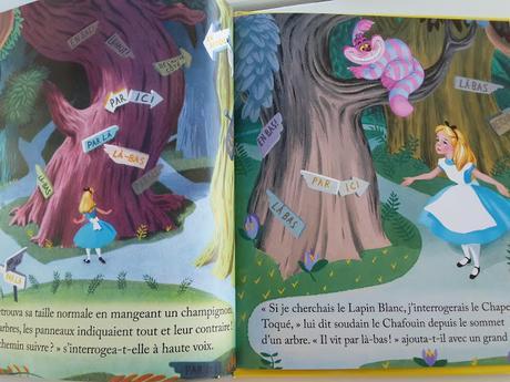 Collection Un petit livre d'or : Quand je serai grand ! - Super Souricette et les dents du bonheur ! - En route ! - Alice au Pays des merveilles