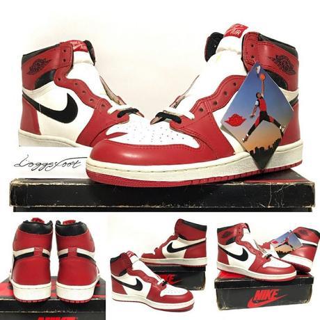 Jordan 1 Chicago 1985