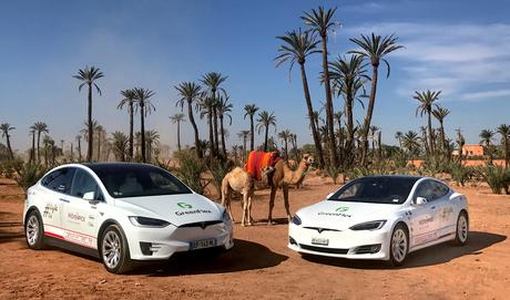 Light Us! De Marrakech à Bonn en Tesla avec Moevenpick Hotels (part 1)
