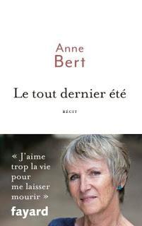 Le tout dernier été d'Annie Bert
