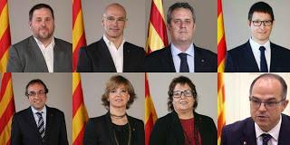 Entre exil et prison, où en est le gouvernement catalan ?