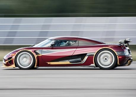Le record de vitesse pour une voiture de série est désormais propriété de la Koenigsegg Agera RS