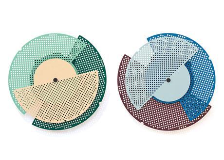 Graphic Time, une série d'horloges graphiques