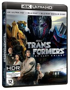 [Test Blu-ray 4K] Transformers 5 – The Last Knight