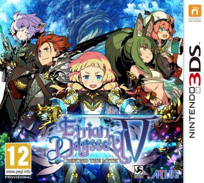 Etrian Odyssey V : Beyond The Myth est disponible en version boîte en Europe !