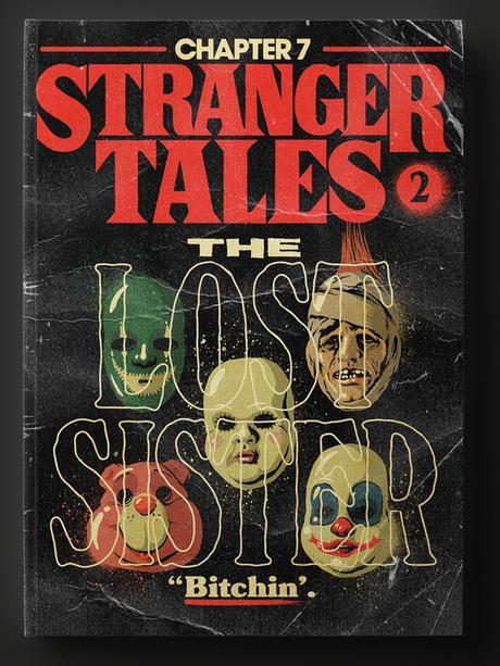 Stranger Things 2: si les 9 épisodes étaient des romans imprimés dans les 80's