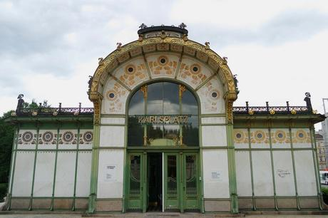 vienne vienna otto wagner art nouveau sécession pavillon karlsplatz