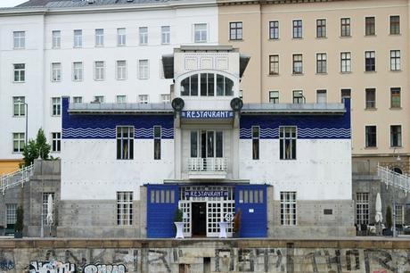 vienne vienna otto wagner art nouveau sécession schottentor barrage écluse kaiserbad danube schützenhaus