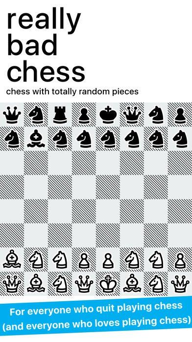 Jeu du jour : Really Bad Chess (iPhone & iPad)