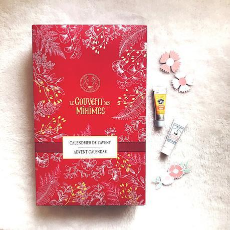 Mon joli calendrier de l'Avent beauté signéLe Couvent des Minimes !