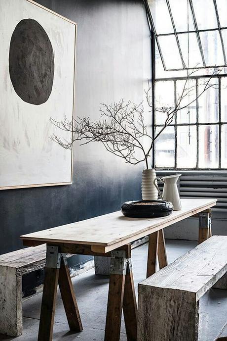 blog deco tendance branches d'arbres en vase