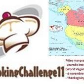 #CataCookingChallenge11 - le thème de novembre 2017