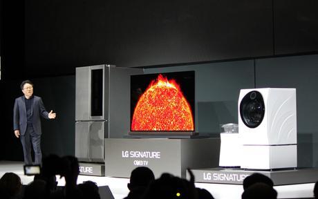 LG Signature : des appareils compatibles avec Google Home