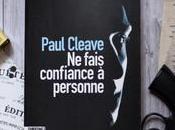 fais confiance personne Paul Cleave