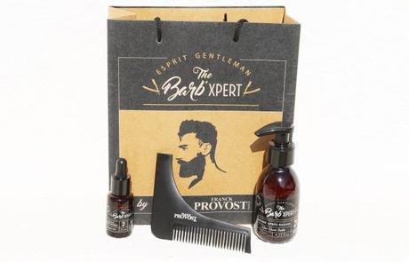 J'ai personnellement craqué pour l'huile pour barbe, le baume après-rasage et le peigne délimiteur de ligne de barbe THE BARB' XPERT by Franck Provost