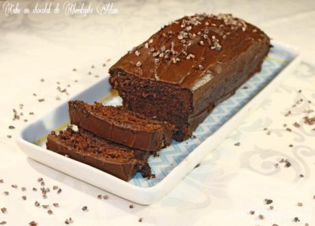Cake au chocolat de Christophe Adam