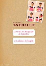 Le premier e-book d'Antoinette
