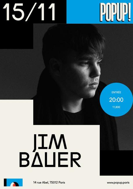 Gagne tes places pour le concert Jim Bauer au Pop-Up du Label