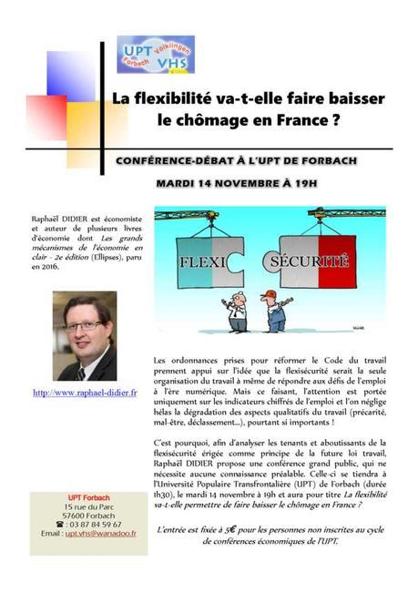 La flexibilité va-t-elle faire baisser le chômage en France ?