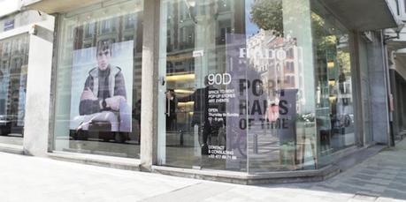 Rado s'offre une Pop Up Gallery Rue Dansaert à Bruxelles