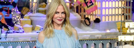 Nicole Kidman superbe à Paris pour inaugurer les vitrines du Printemps !