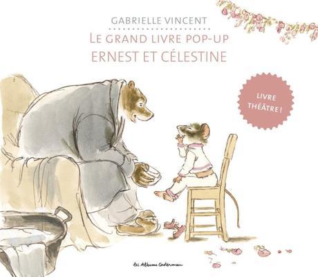 Le grand livre pop up ernest et c lestine par gabrielle - Ernest et celestine coloriage ...