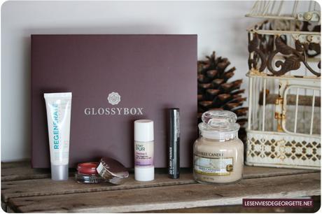 La Glossybox de Novembre 2017 : mon elixir