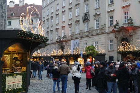 vienne marché noël stephansplatz