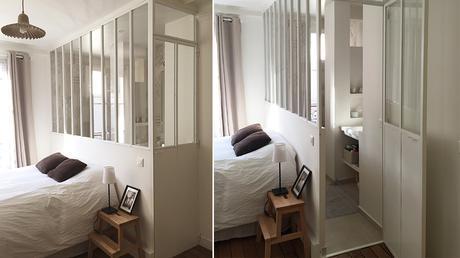 Salle de bain avec verriere une salle de bain atelier for Verriere atelier blanche