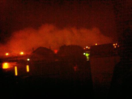 Nouvel incendie quartier de Gournay à Creil