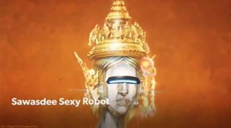 Bangkok, Sawasdee sexy robot (Hajime Sorayama)