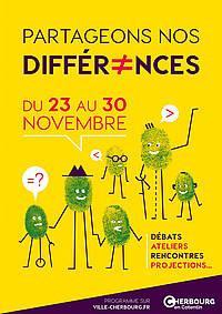 #Cherbourg : Partageons nos différences : une semaine pour sensibiliser au #handicap !