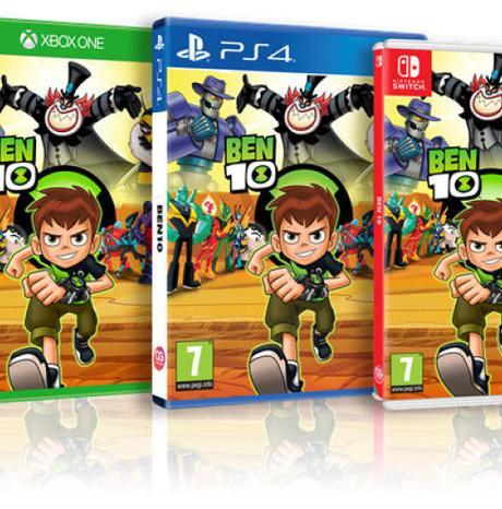 BEN 10 est disponible sur PS4, Xbox One, Nintendo Switch