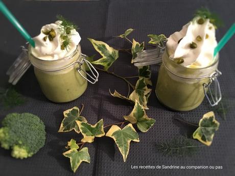 Cappuccino brocolis et sa chantilly au companion thermomix - I companion ou thermomix ...