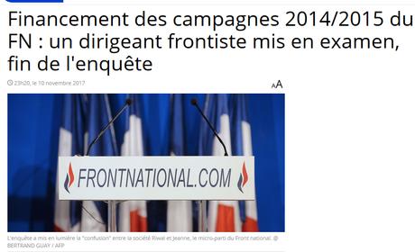 « #Jeanne, au secours ! » (Marine Le Pen – #FN)