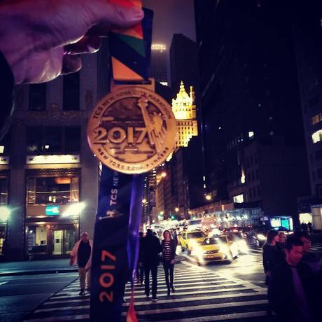 C'est l'heure du débriefing : j'étais au départ du marathon de New-York et j'en ai pris plein les yeux !